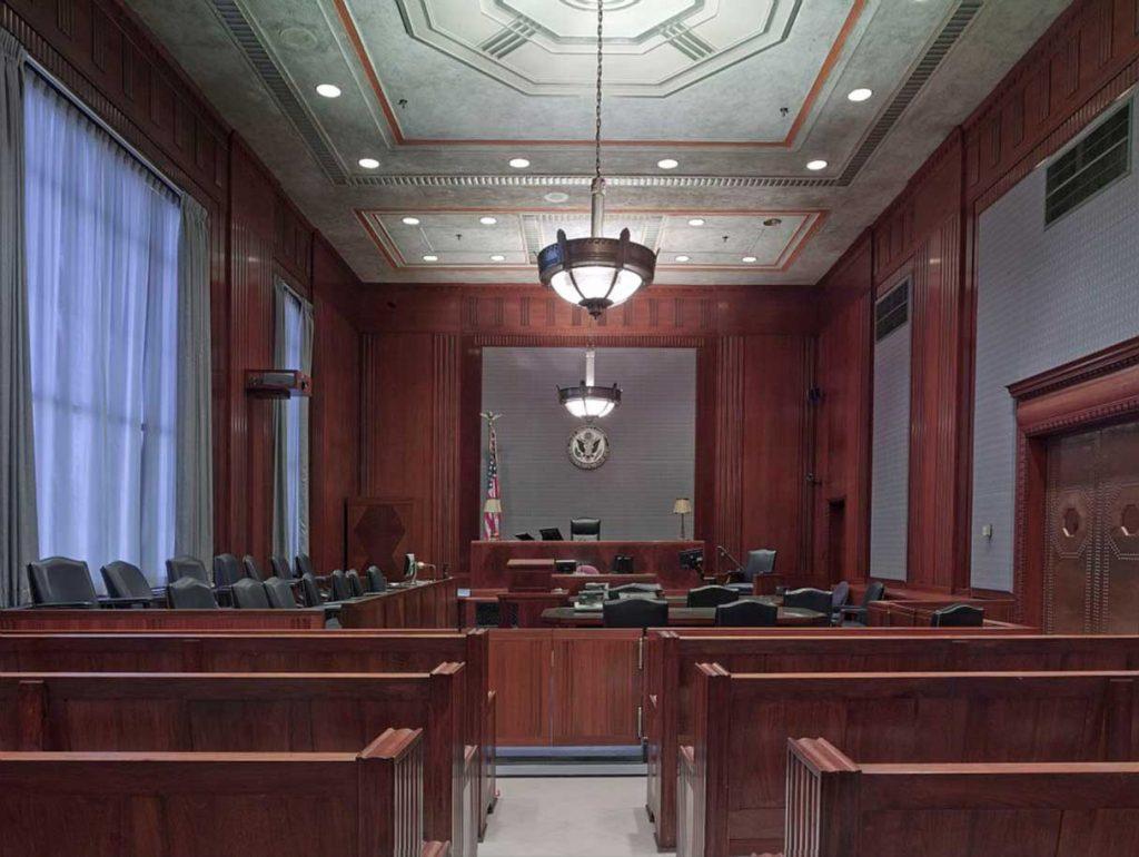 Corte judicial en la que se debe presentar el informe pericial