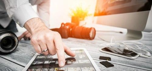 Trabajo técnico fotográfico